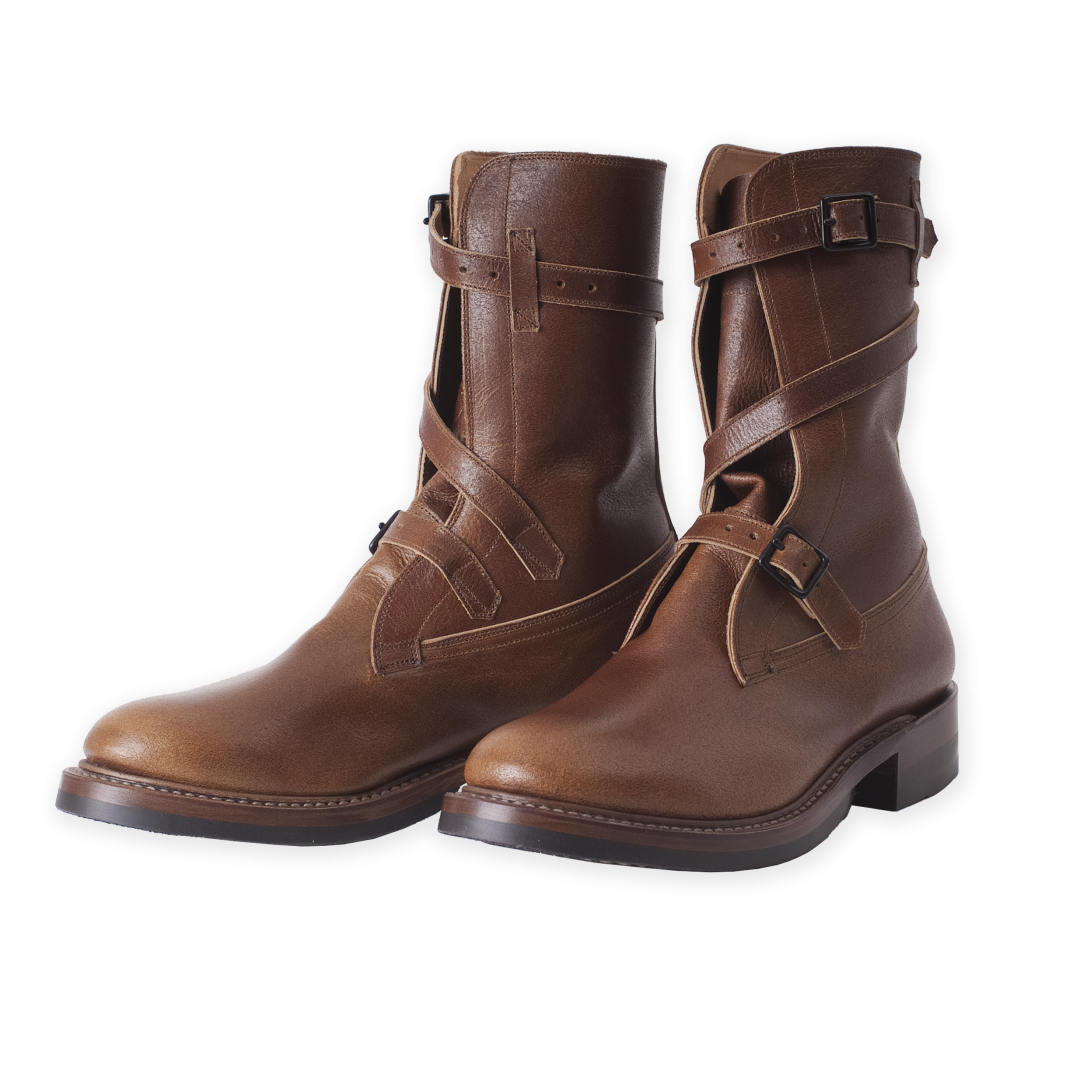 Tanker Boots:: Burnished Roughout