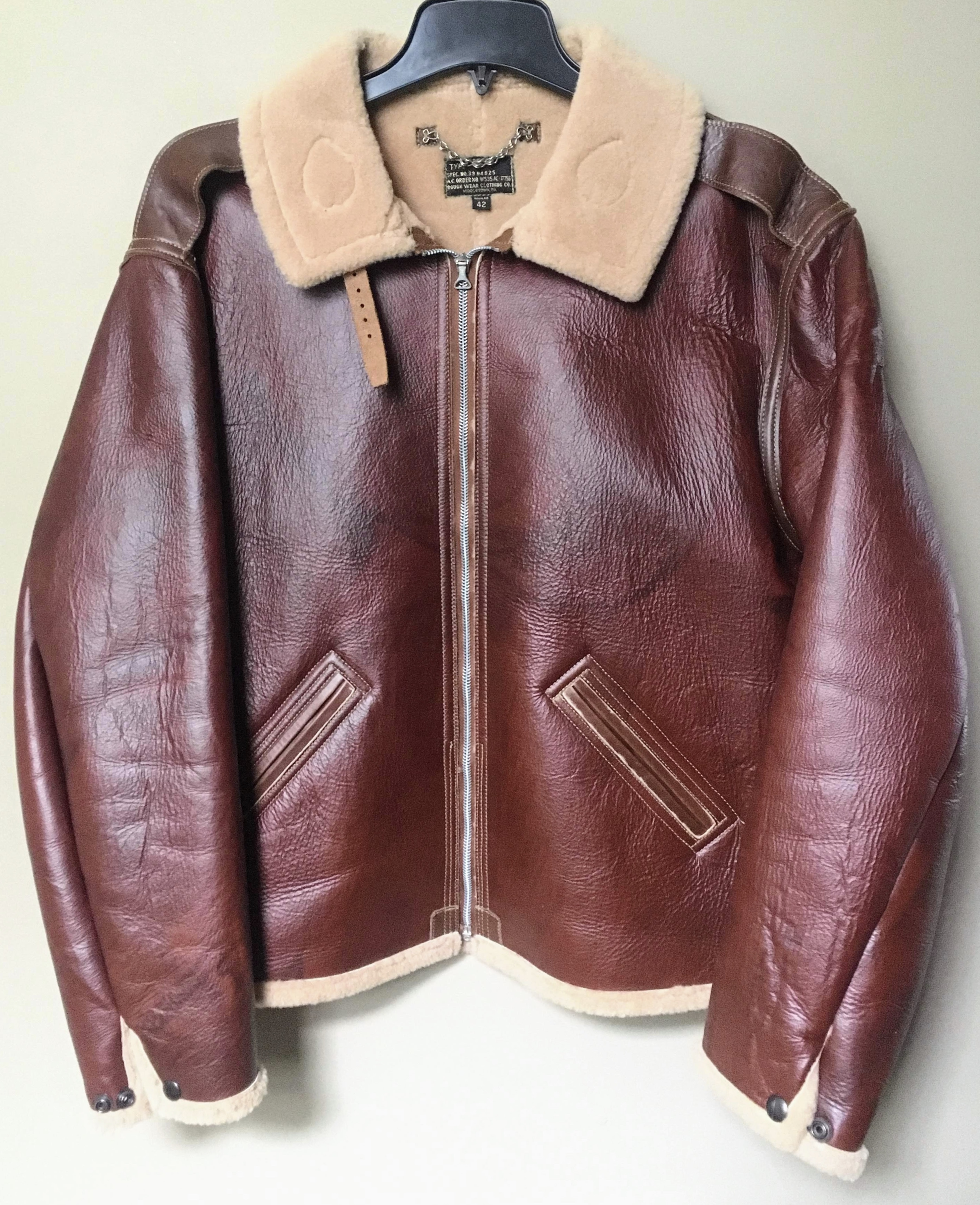 JACKET - FLYING TYPE B-6 Rough Wear® Contract 17756 Image