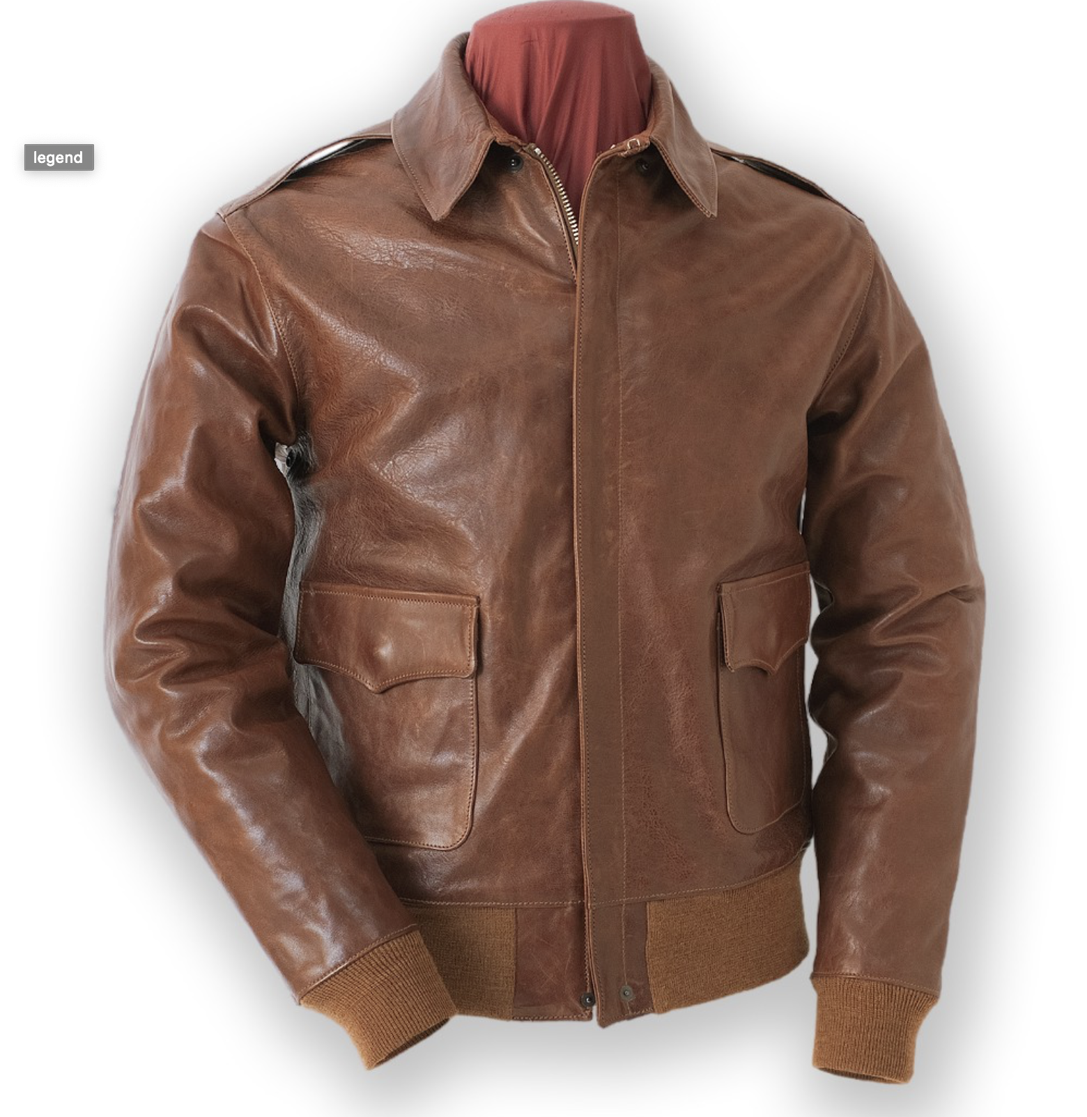 LOOKING FOR AN A-2 WERBER-LEATHER-COAT-CO.-CONTRACT-1729 IN GOOD CONDITION, SIZE 40 Image