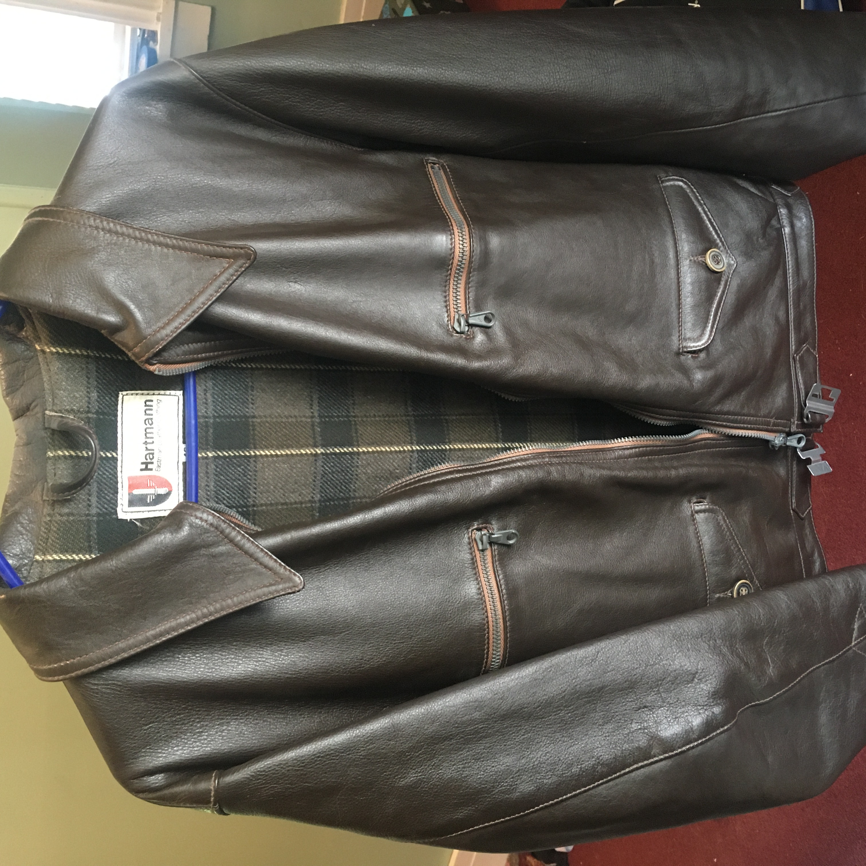 HARTMANN® :: WWII German Flying Jacket Capeskin Image
