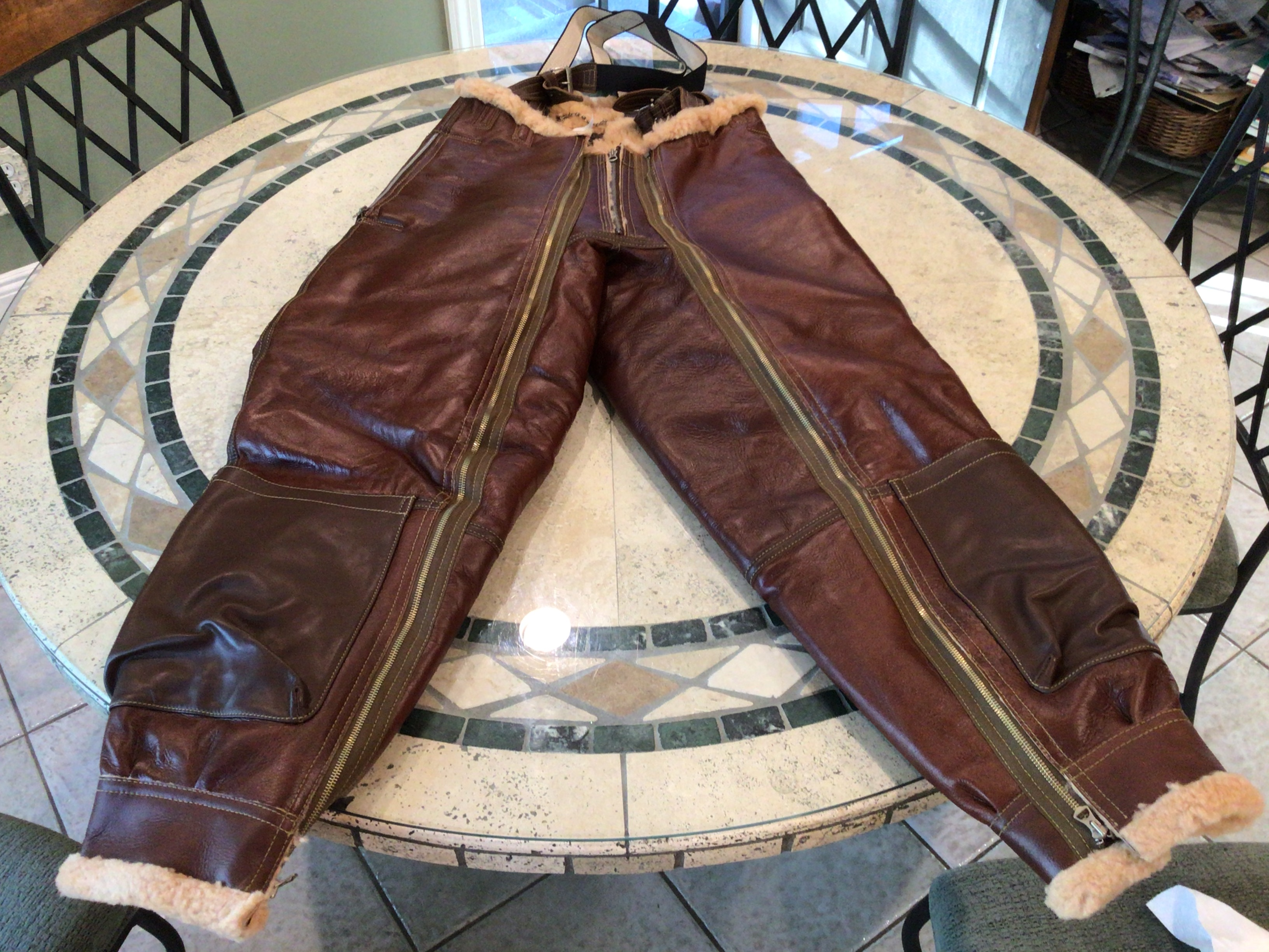 Eastman A-3 Trousers in Redskin finish Size 40 $1100 includes shipping Image