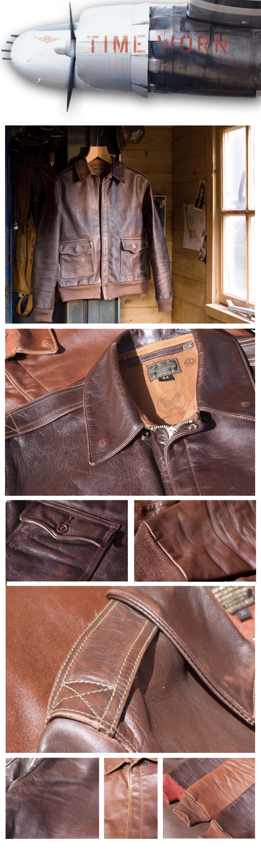 Time Worn by Eastman Leather Clothing